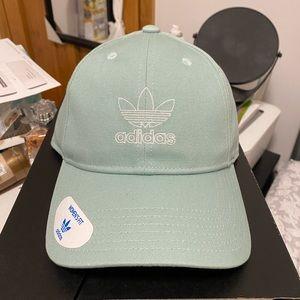 NEW Adidas Trefoil Relaxed Hat (Light Green)